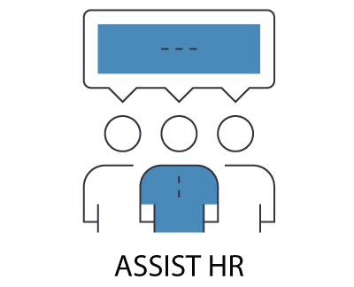 Assist HR with employee benefits.